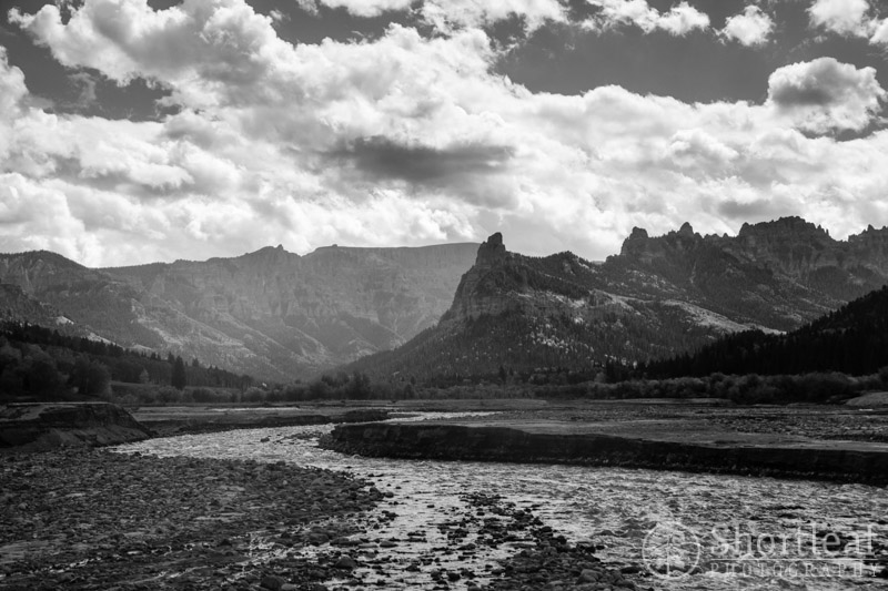 A beautiful valley around the Cimarron River near Silver Jack Reservoir.