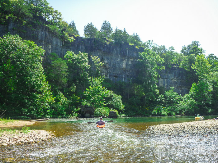 Kayaking the North Fork