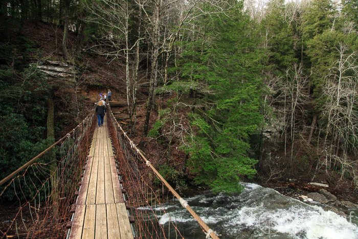fall creek falls suspension bridge