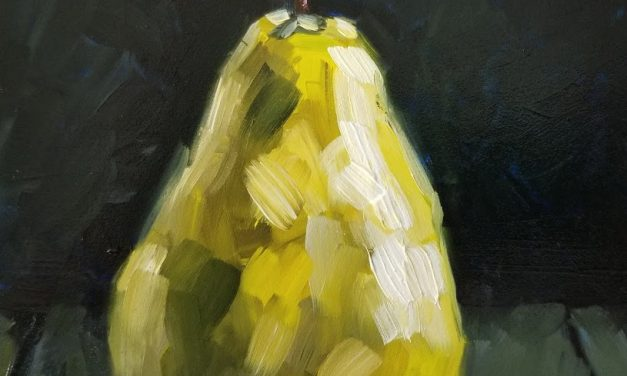 Painting a Pear